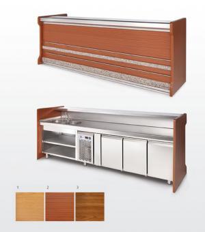 Barras de bar fabricaci n venta y mantenimiento grupo migan for Barras de madera bar